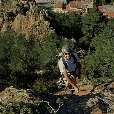 roca de la creu-via ferrada-guies la vall